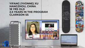 Conversation Corner - Yifang (Yvonne) Xu