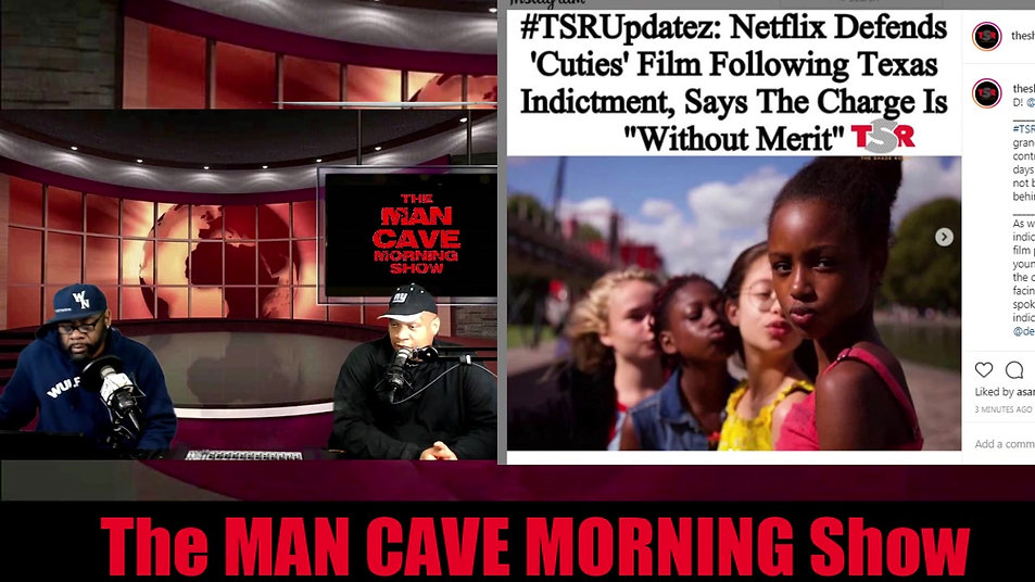 THE MAN CAVE MORNING SHOW