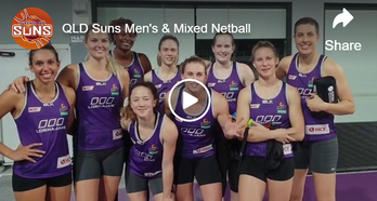 Firebirds Shout out to QLD Suns Open Men's