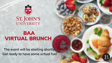 St. John's University Virtual Fundraiser