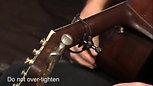 The Paige Clik 6-String Acoustic Capo Standard Profile PC-6-2.062R-mobile
