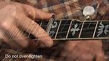 The Paige Clik 5-String Banjo Ukulele Capo Fits Past 4th Fret Wide Profile No Radius PC-B5-1.812-mobile