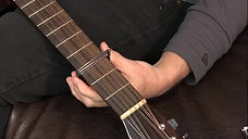 The Paige Original 12-String Acoustic Capo Standard Profile with Radius P-12E