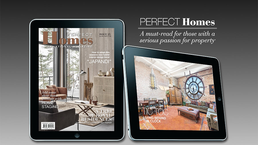 PERFECT HOMES INTERNATIONAL MAGAZINE