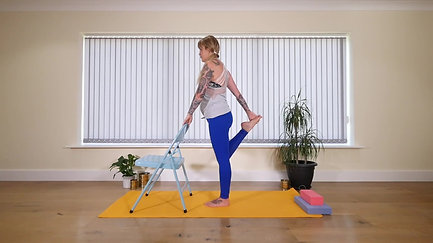 Pregnancy Yoga Standing Flow