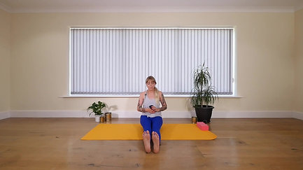 Pregnancy Yoga Seated Flow