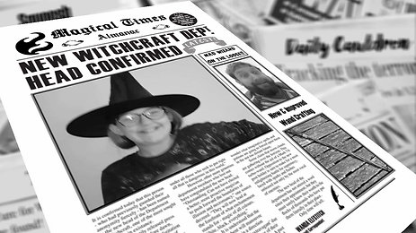 Magic Newspaper
