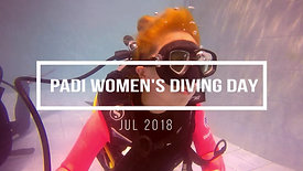PADI Women's Day Fun Divers Bali