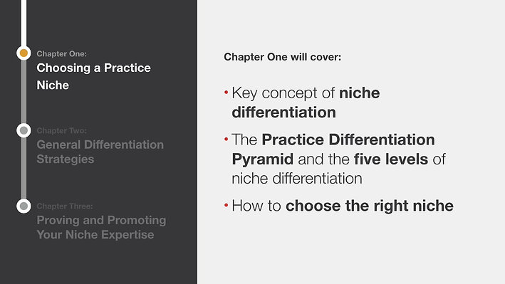 Building a Powerful Practice Niche
