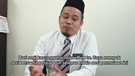 Pengetua Al-Amin Bangi - Feedback
