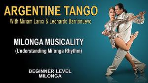 Milonga Musicality #2
