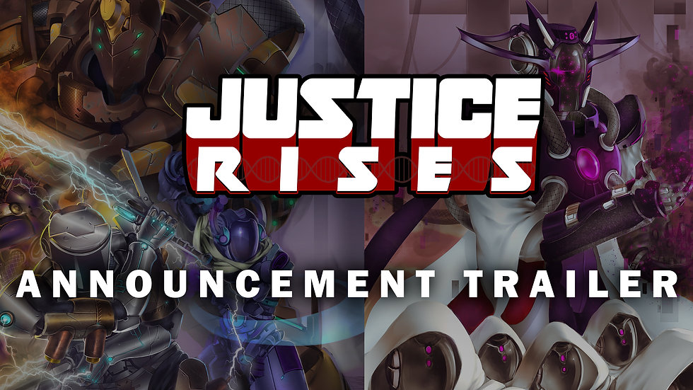 Justice Rises Offical Annoucement Trailer