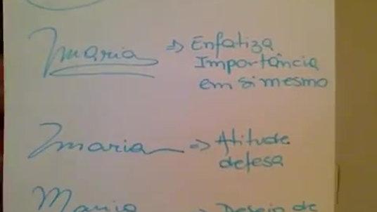 Assinaturas na Grafologia