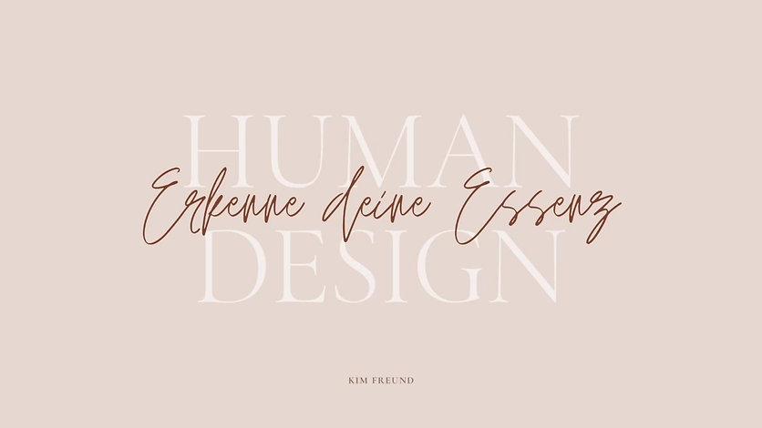 HUMAN DESIGN BASICS