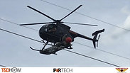 Helicopter Install of Power Line Marker Balls