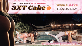 Week 2 Day 2 of 3XT CAKE: BANDS Days