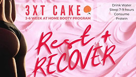 EXERCISE: Week 3 Day 4 of 3XT CAKE- Yin Restore+Recover