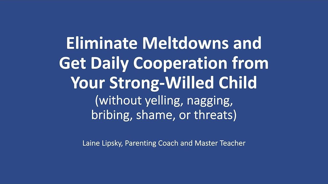 Strong-Willed Children