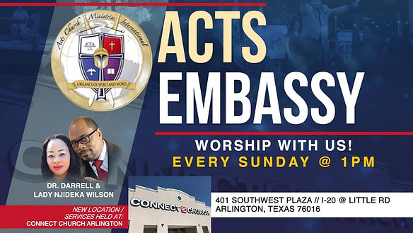 Acts Embassy Live Stream