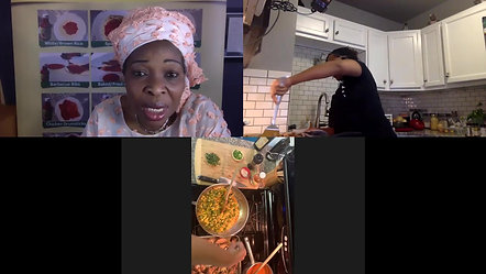 Cooking With Chef Lachelle