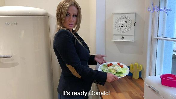 Melania and the Salad