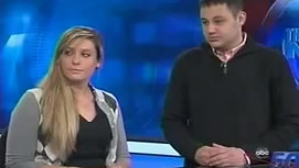 Starship NEXIS crew promote 140cuse on ABC News Syracuse