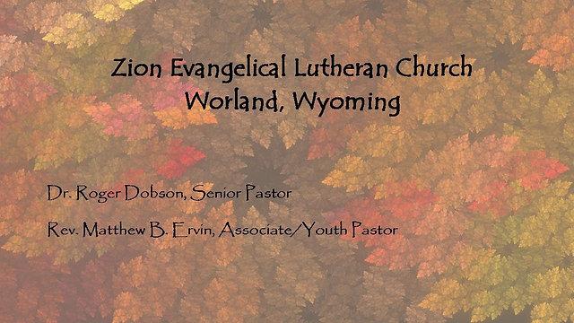 November - December Sermons