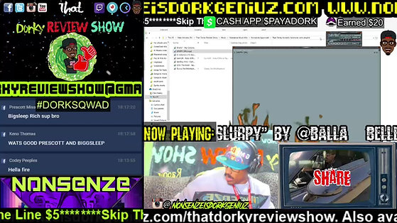 That Dorky Review Show: Fridays With Nonsenze & Friends Fooh lol Send that Fire .