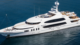 SKYFALL luxury charter yacht - 190ft