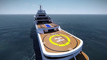 Thor Explore is a 100-metre exploration yacht