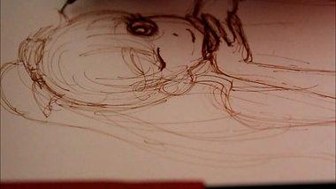 Drawing Demo: Mina from Sailor Moon, Part 1: Sketching
