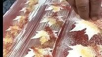 Xablón hojas de otoño
