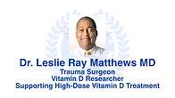 Pandemic Debate Part 2 - Vitamin D with Dr Leslie Ray Matthews