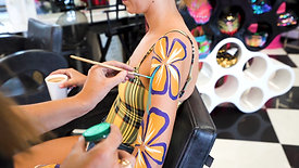 Cool Travel Jobs- Body Painting in Ibiza