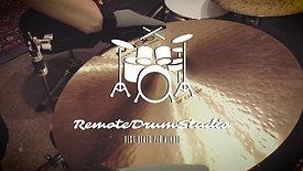 Remote drum studio 2020