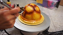 Airbrushing Turtle Shell