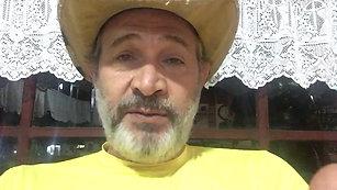 O ator Nelson Freitas apoia #cachoeirasseguras