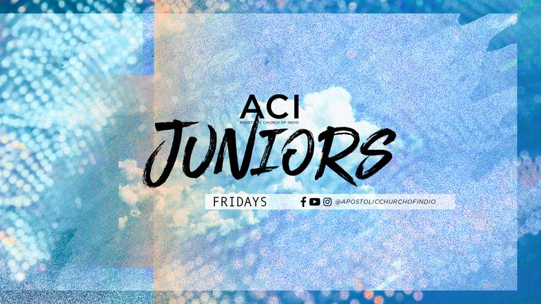 ACI Juniors Bible Lessons