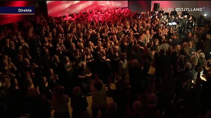 TV2 østjylland ÅGS 10-års jubilæum