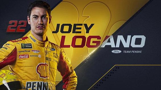 Nascar Driver Joey Logano NBC Sports Swipe