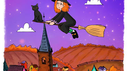 Little Winnie Witch Goes to Flight School