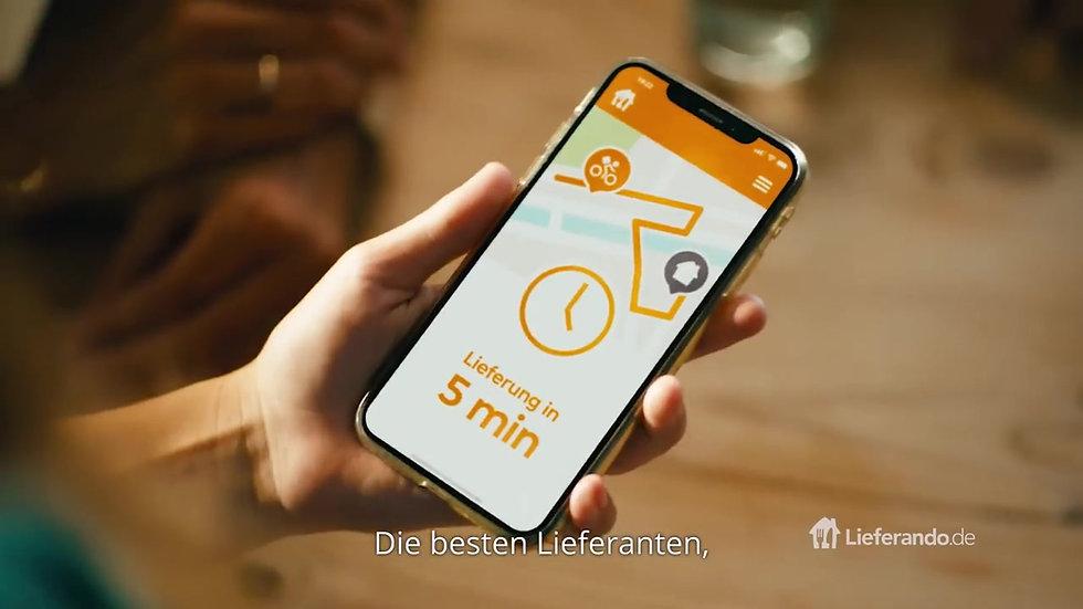 Deine Lieblingszeit - Zeit für Lieferando.de