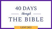 Lent 40/40 Invite
