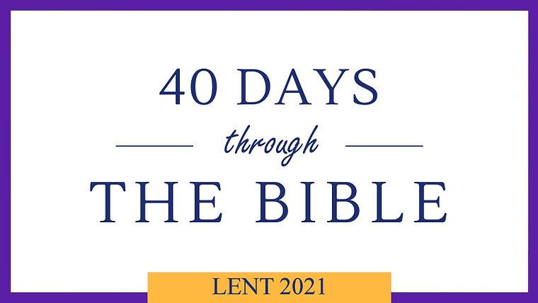 Lent 40/40