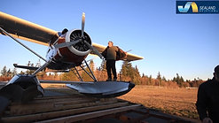 Trailerlaunch of a DHC-2 Beaver