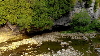Drone Footage: Elora Gorge (Courtesy of Sean Hooper)
