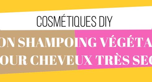 Recette DIY - Mon shampoing végétal pour cheveux très secs