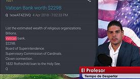 Tiempo de Despertar  8 Octubre 2019  El Vaticano, Turkia