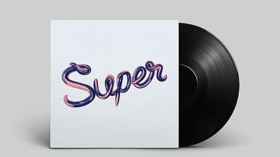 Super - Record Cover Ad