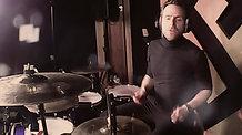 Live room drum recording example